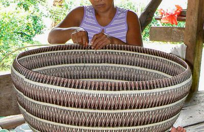 Artisanat traditionnel du Panama, les vanneries des Amérindiens Wounaan et Embera (article 1) par Margo Callaghan