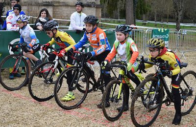 photo 12 janvier 2020 / championnat regional cyclo cross a couhé