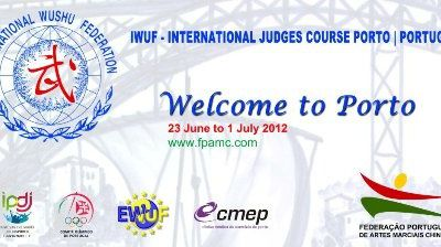 23 JUIN - 1er JUILLET 2012 IWUF INTERNATIONAL JUDGE A PORTO