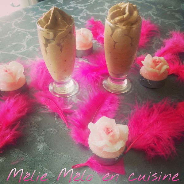 Mousse onctueuse chocolat gimgembre