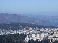 The Golden Gate Bridge and the Presidio Park