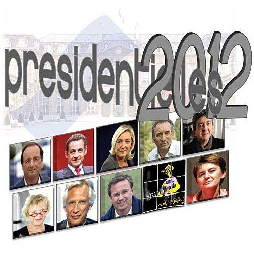 Sondage du jour : Hollande progresse de 3 points, Mélenchon en troisième homme ; Le Pen s'effondre