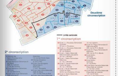 Colombes : découpage des bureaux de vote pour les élections Présidentielles des 23 avril et 7 mai