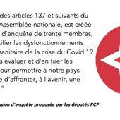 La proposition de commission d'enquête sur la gestion sanitaire du Covid-19