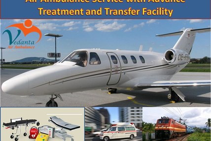 Air Ambulance in Patna and Ranchi with Advance Treatment and Transfer Facility