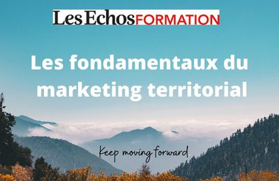 Prochaine formation au marketing territorial : 20 et 21 mai 2021