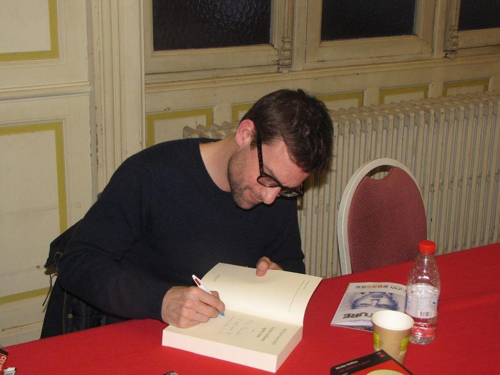 Quelques photos des auteur(e)s de romans et Fred Prilleux, cliquez pour faire défiler le diaporama