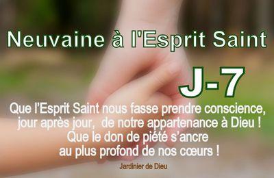 Neuvaine à l'Esprit Saint - Jour 7