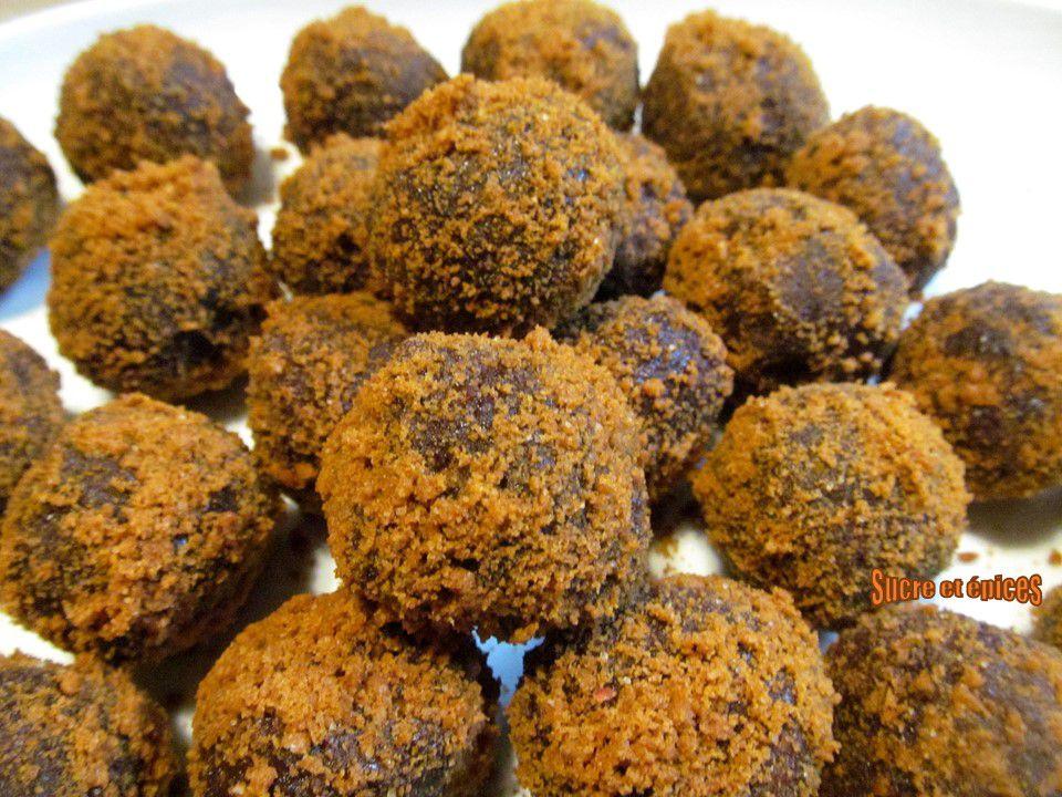 Bonbons au goût de pain d'épices - recette facile et sans cuisson