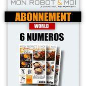 Abonnement : Abonnement Mon Robot et Moi / 1 an / 6 N° / Hors France