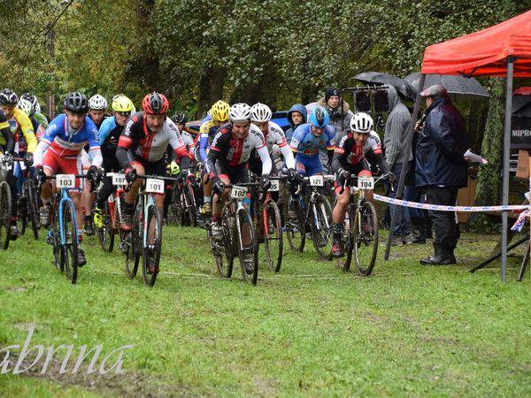 le cyclo-cross de Loures Barousse ,3eme cat