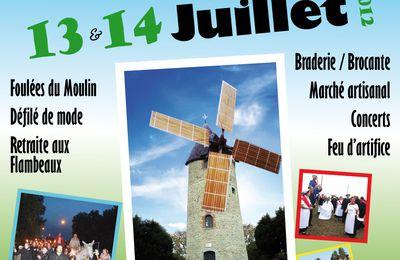 La 10e Fête de mon moulin les 13 et 14 juillet