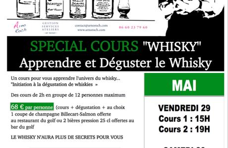 SPECIAL COURS WHISKY