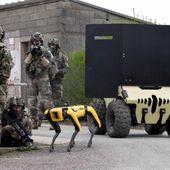 Quand l'EMIA part au combat avec des robots terrestres dont le nouveau ULTRO de Nexter