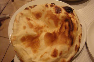 Pain qui rit : le Cheese naan