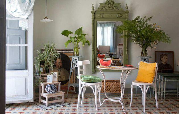 La poésie d'une maison espagnole