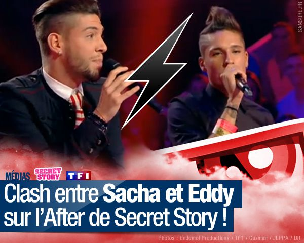 Clash entre Sacha et Eddy sur l'After de Secret Story ! #SS8