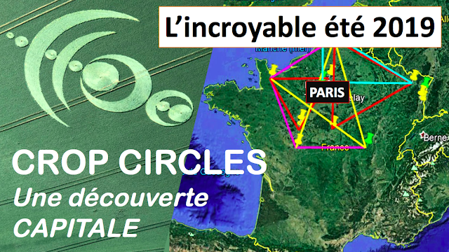 Message des Crop Circles 2019 en France