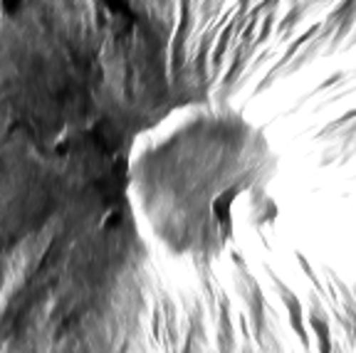 Ili Lewotolok - image Sentinel-1 radar 02.12.2020 - Doc. Mounts project / Copernicus