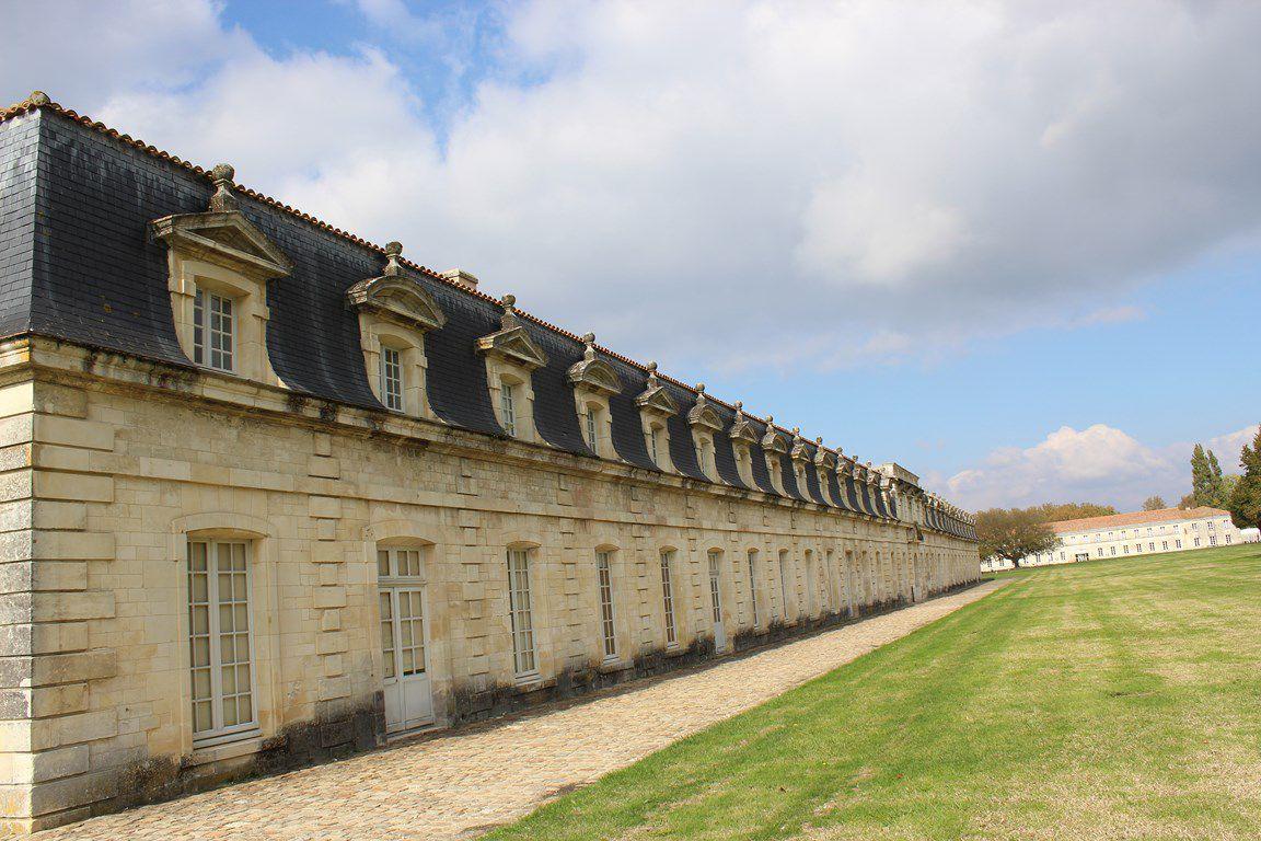 Rochefort - l'Arsenal et la Corderie royale - 15 octobre 2020