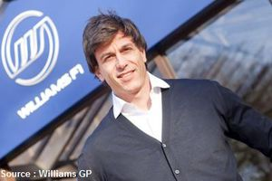 Toto Wolff se rapproche de Frank Williams