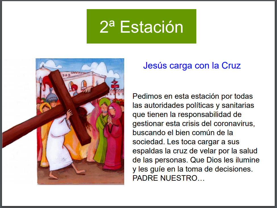 Via Crucis viernes 3ª semana de Cuaresma