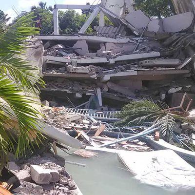Haïti - Séisme : l'ancien maire des Cayes Gabriel Fortuné retrouvé mort sous les décombres de son hôtel