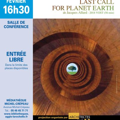 LAST CALL FOR THE PLANET EARTH
