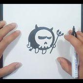 Como dibujar un demonio paso a paso 4 | How to draw a demon 4