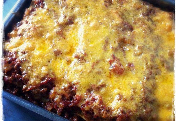 Lasagnes Aubergines Cheddar Mozza