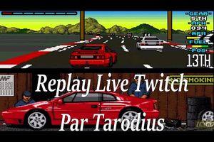 Lotus Esprit Turbo challenge sur Amiga (Live Twitch)