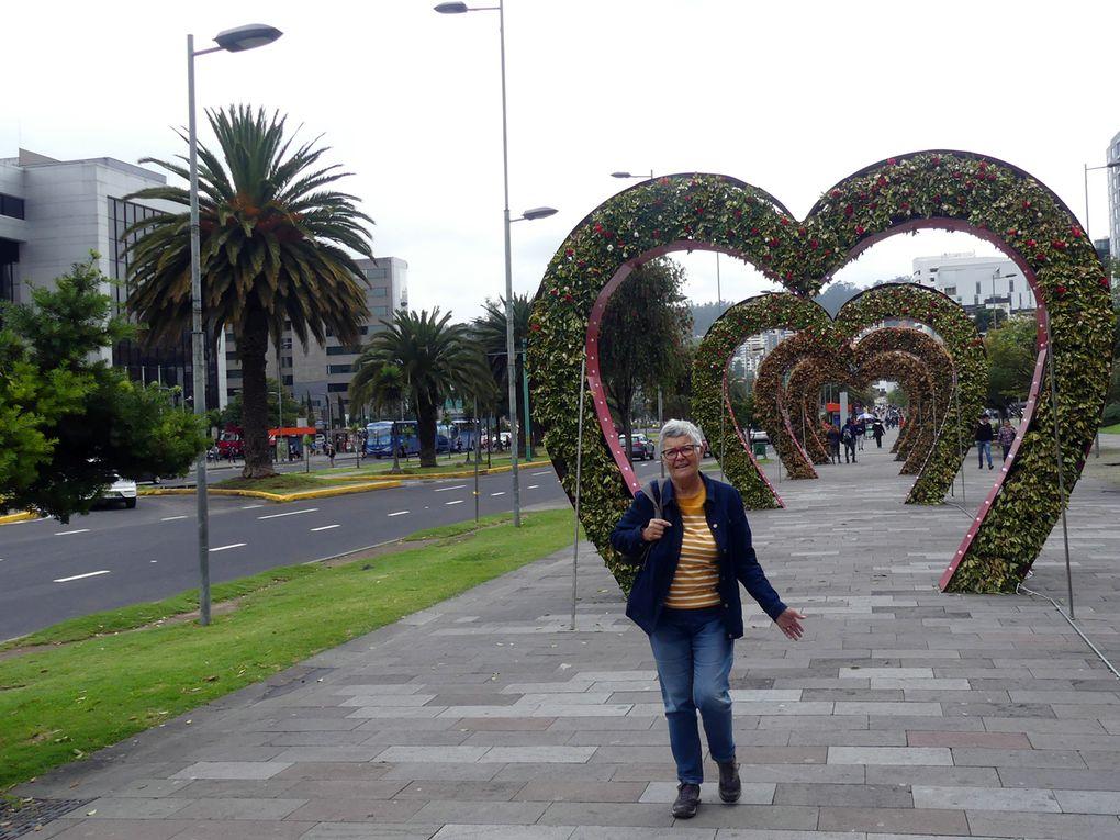 Quito et le passage de la ligne.