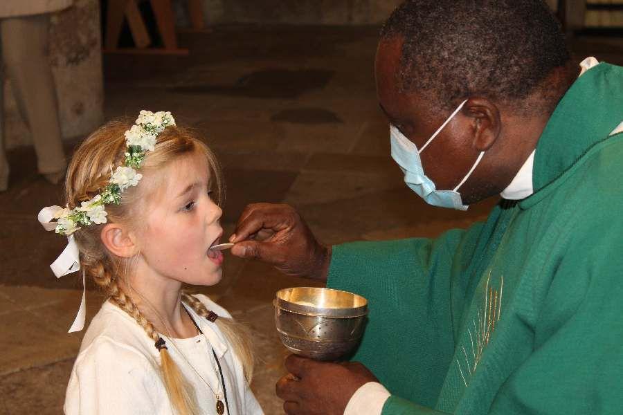 Première Communion dans nos deux paroisses 11.10.2020