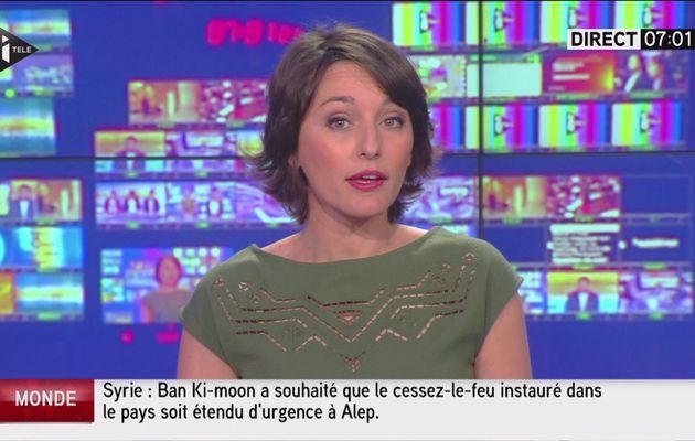 AMANDINE BEGOT dans LA TEAM TOUSSAINT sur i>tele le 2016 05 03