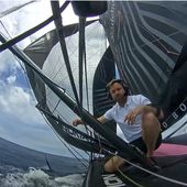 HUGO BOSS Imoca : Cape Town to UK Delivery - Onboard Update 14 January 2021 - OOKAWA Corp. Raisonnements Explications Corrélations