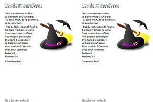 Les deux sorcières - Corinne Albaut - MS-GS-CP-CE1-CE2