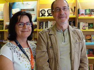 Claudine et Chantal, incontournables... à la Boutique France Loisirs de Saint-Malo