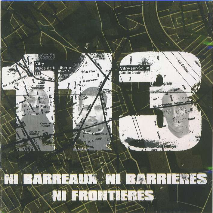 Ni barreaux, ni barrières, ni frontières (EP) - cover front - 113