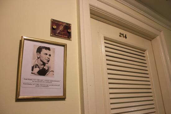Chambre de Sinatra à l'Hôtel Nacional de la havane