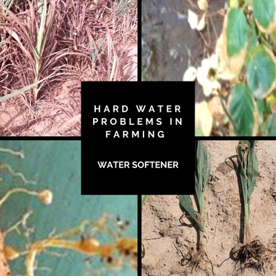 Best solution for hard water problems in farming