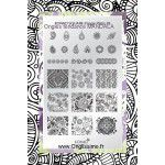 STAMPING KONAD PLAQUES NAIL ART - Boutique KONAD by Onglissimo