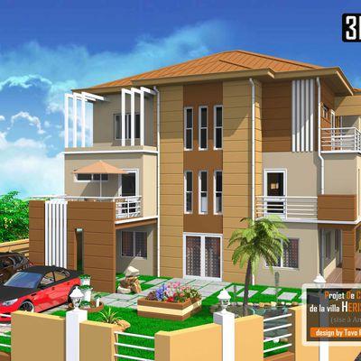Projet de construction d'un appartement sis à Analamahitsy