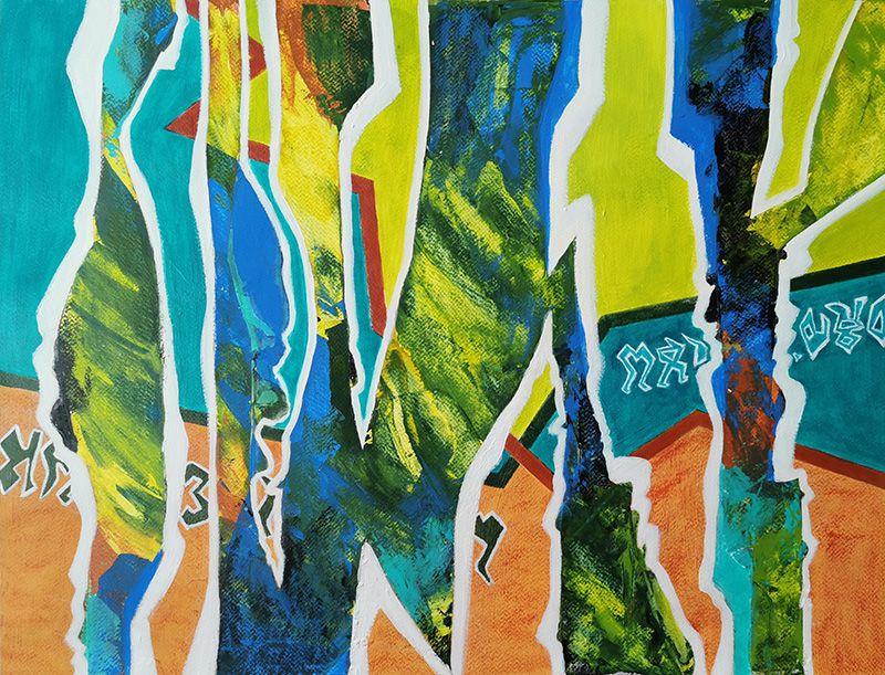 Peinture en six jours de Marie-Christine Schmitt (I)
