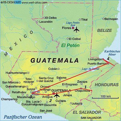Honduras-Guatemala-Honduras