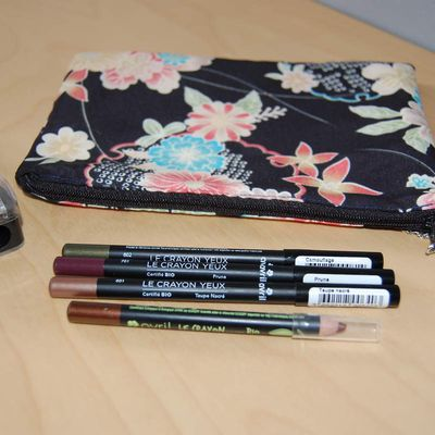 swatch crayon yeux Avril + code promo