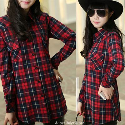 Casual Ladies Flannel Shirt with your Favorite Jeans