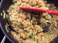 Croquettes au Risottino, petits légumes et mozarella