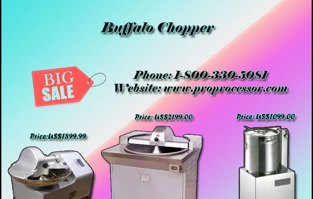 No.1 Buffalo Chopper Machines at Best Price in USA