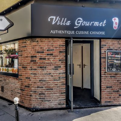 """Villa Gourmet (Courbevoie) : made in """"vraie"""" china"""