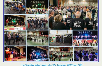 GRAND FEST NOZ INTER ASSOCIATIONS DU  25 janvier  2020 à PLOEREN